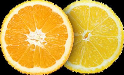 Geschmack Orange Zitrone
