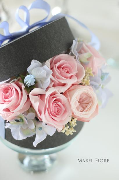 1.サークルアレンジメント 参考価格 7,600円~ Preserved Flower
