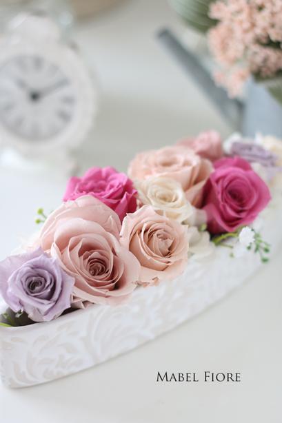 13.オーバルアレンジメント 参考価格 7,000円~ Preserved Flower