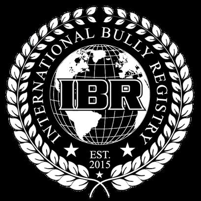 logo représentant la féderation IBR de l'american bully italie