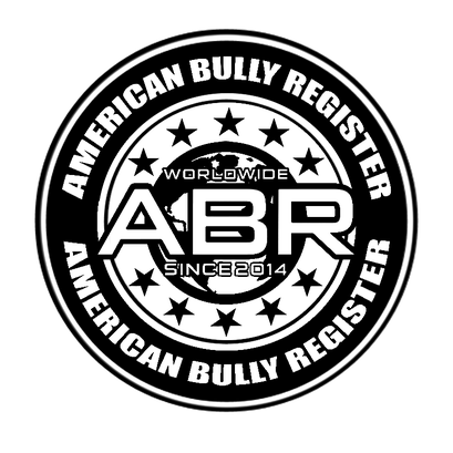 logo représentant la féderation ABC de l'américan bully