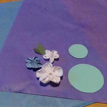 Blüten herstellen