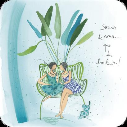 Carte postale illustrée par Anne-Sophie RUTSAERT
