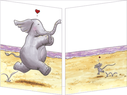 Carte postale illustrée par Sophie TURREL