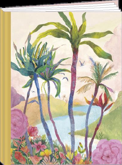 Cahier 96 pages lignées, 100% fabrication française et 100% recyclable. Illustré par Izou - KIT22