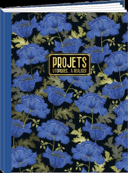 Cahier 96 pages lignées, 100% fabrication française et 100% recyclable. Illustré par Mila - KIT1 - thème Opium