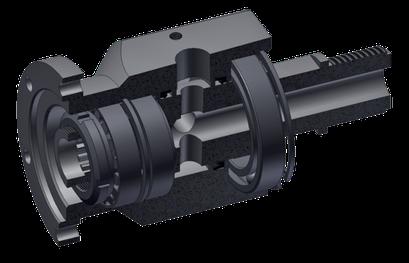 Spühlkopf für pneumatische Bohrantriebe