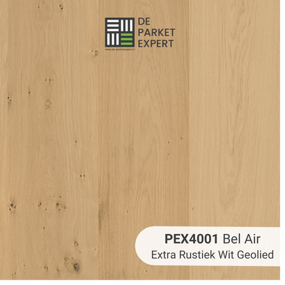 PEX4001 Bel Air Extra Rustiek Wit Geolied zonder prijs