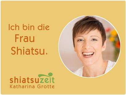 Katharina Grotte ist die Frau Shiatsu