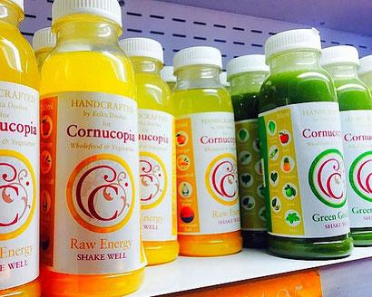 cornucopia handcrafted cold-pressed juices