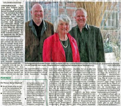 Hertener Allgemeine 1.4.2014