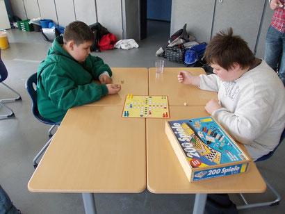 Spielen im Schülertreff