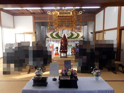 家族葬風景