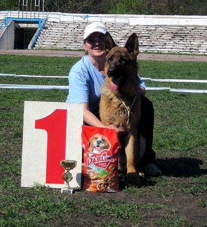 щенки немецкой овчарки в донецке купить продажа  щенков немецкой овчарки дрессировка собак хэндлинг
