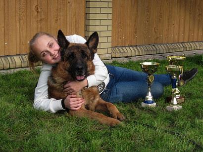 Многократный победитель самых престижных выставок по немецкой овчарке - Ярант фон Нордэн