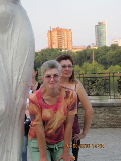 Марина Калыш и я, 01.08.16.