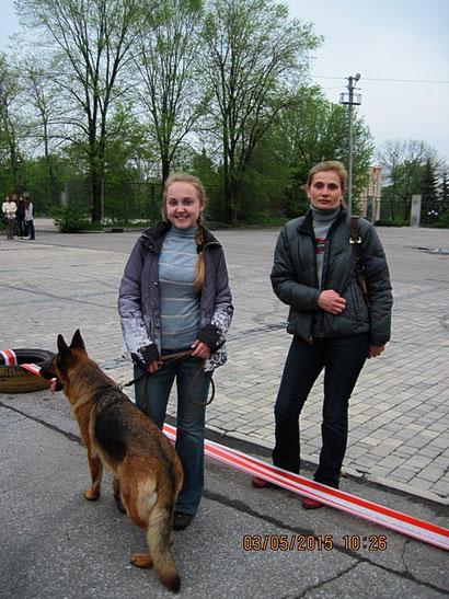 продажа щенков немецкой овчарки в донецке дрессировка собак хэндлеры