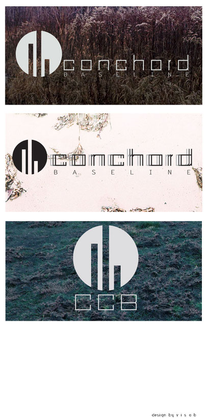 conchord baseline logo design music label morbit exile techno drum and base minimal prgressiv producing octatrack