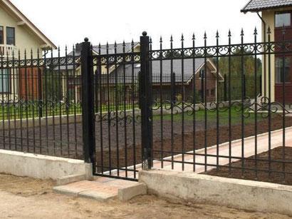 забор+калитка