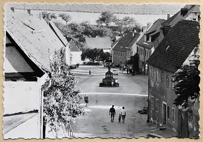 Marktplatz Kohren-Sahlis