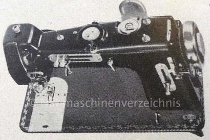 WEBA Automatic 545-ZZA, Flachbett-Automatik-Haushaltsnähmaschine mit austauschbaren Schablonen und CB-Greifer, Anbaumotor, WEBA-Werke KG, Ober-Ramstadt (Bilder: Nähmaschinenverzeichnis)