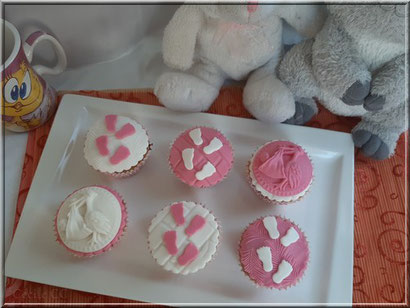 muffin déco naissance