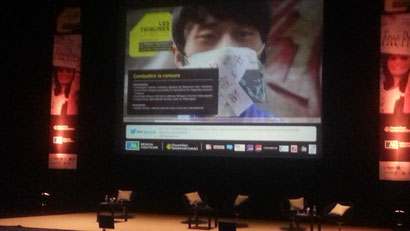 """17 octobre 2013 : première conférence """"Combattre la censure"""""""