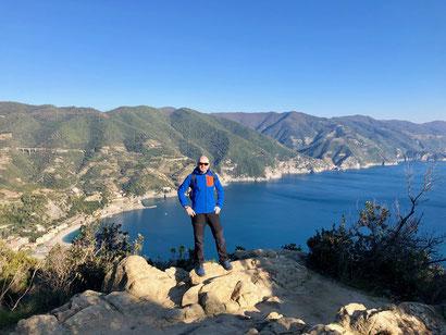 Punta Mesco, Levanto, Monterosso, Cinque Terre, camminare