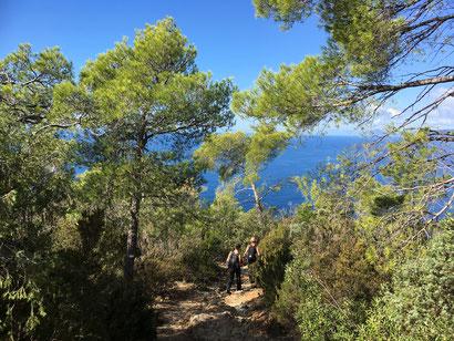 Bonassola, Framura, Riviera di Levante, Wandern, Cinque Terre