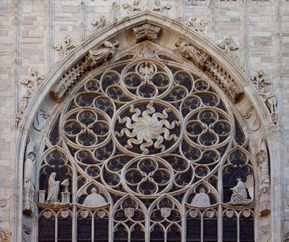 OmoGirando il Duomo - Particolare di una finestra
