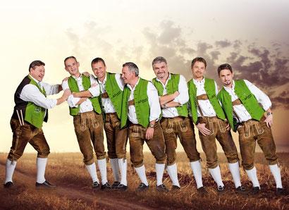 """""""Die Innsbrucker Böhmische"""" ist ein siebenköpfiges Blasmusik-Ensemble aus Innsbruck im schönen Südtirol."""