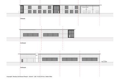 Neubau Schreinerei Roesch, Basadingen / Atelier Wilck