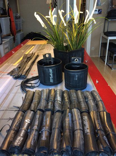 Bereitet sich mit der Produktion von Pflanzenübertöpfen auf den Frühling vor: Die Berliner Firma Stef Fauser Design.