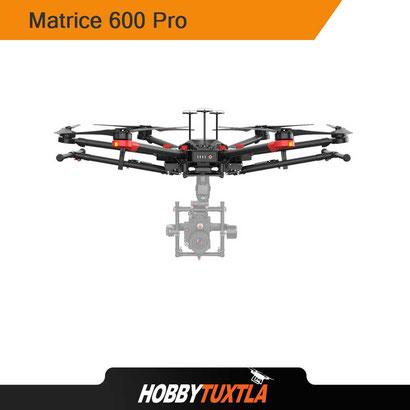 Drones profesionales Matrice 600 Pro pueden adaptarse a cualquier cámara de Cine