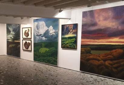 2011. Paysages 4 saisons. Peinture à l'huile sur toile.