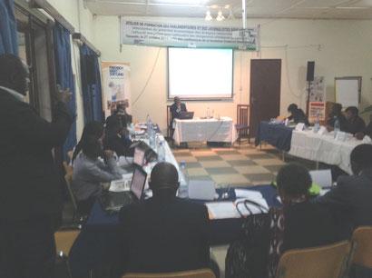 l'atelier de formation du 27 octobre 2014 sur la valorisation du potentiel énergétique du Cameroun