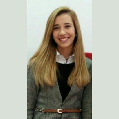 Violeta Cortés, Secretaria General de ELSA Salamanca y estudiante de Derecho