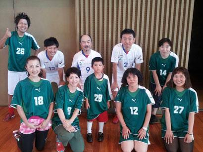 mixチーム(中央29番がメッシ選手)