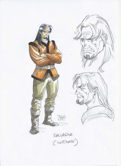 Character Design, Salvador