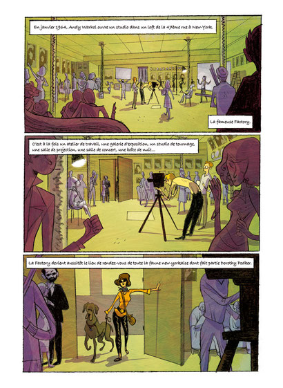 """Qui a tué Marilyn ?"" Page 1 : Anthony Audibert"