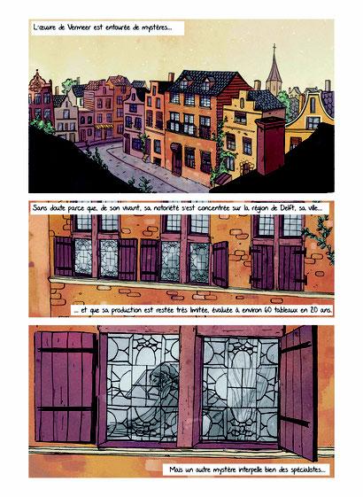 """""""Pas très net"""" Page 1 : Pauline Bertrand"""
