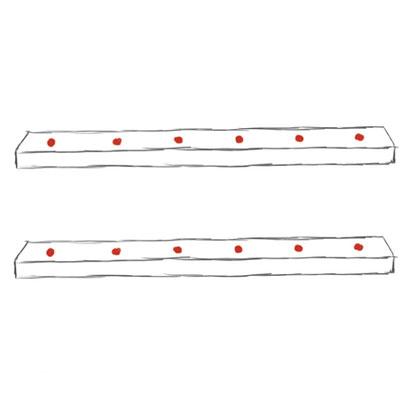Abbildung 3 (Löcher Verbindungsbretter)