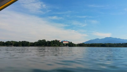 Chiemsee, Alpenpanorama