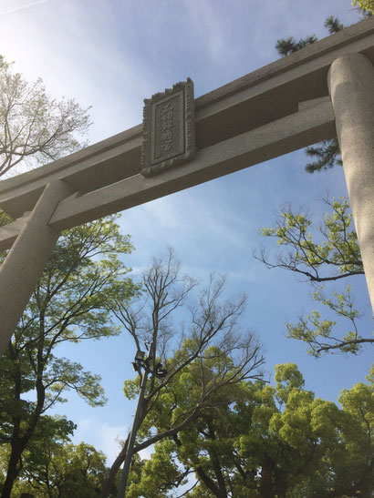 石切神社(筆者撮影)