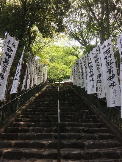 石切神社上之宮(筆者撮影)