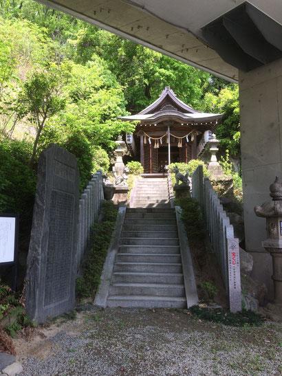大阪稲荷山神社(筆者撮影)