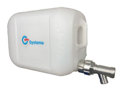 Edelstahl Adapter für Kanister 54mm DIN51 zu S60x60 Aussengewinde