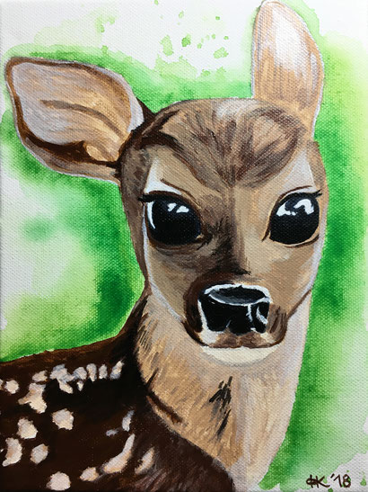 Reh Dawn Rehkitz Bambi