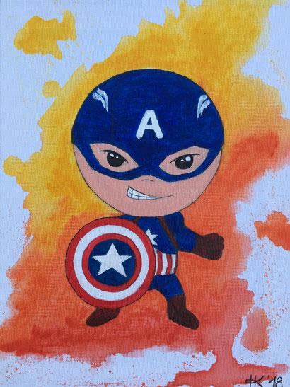 Superheld America Captain