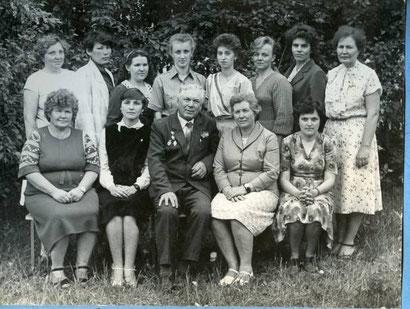 Учителя школы. 1985 год.